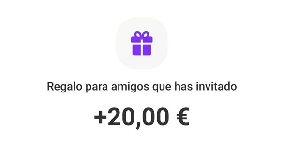 20 euros para amigos