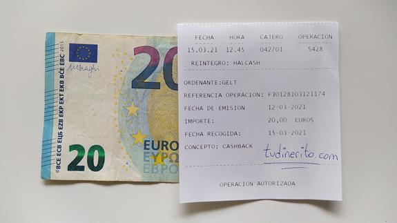20€ ganados en Gelt