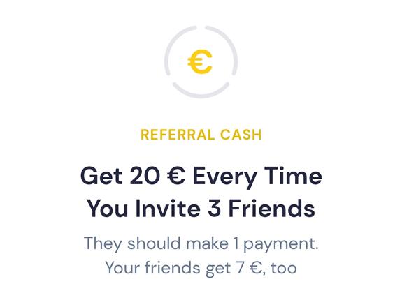 20€ por cada 3 invitados