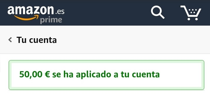 50€ Amazon
