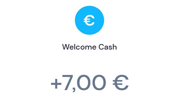 7€ de bienvenida