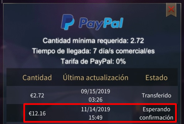 Funx no paga