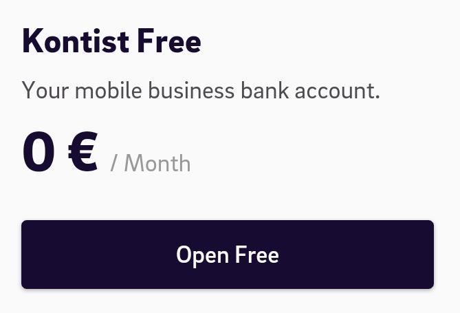 Kontist Free