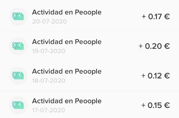 Actividad Peoople