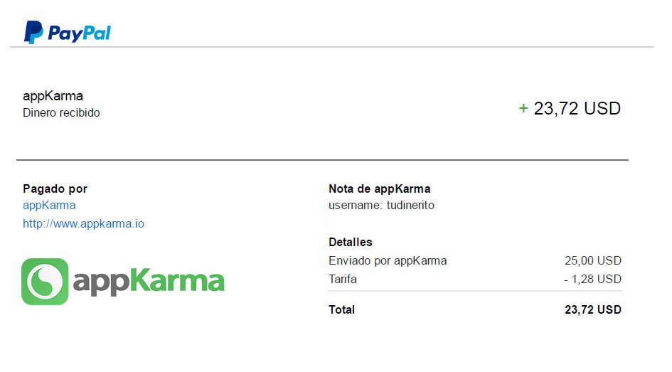 AppKarma PayPal