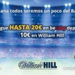 Beruby y William Hill: Gana mucho con 10 euros