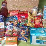 Abriendo la caja Degustabox de agosto…
