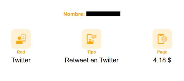 RT en twitter