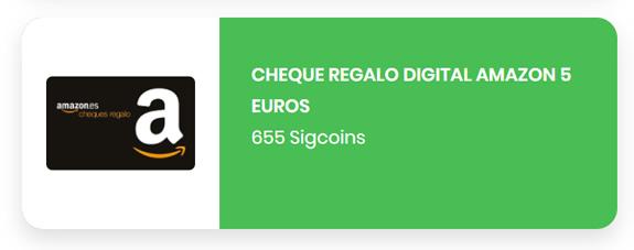 Cheque de 5 euros