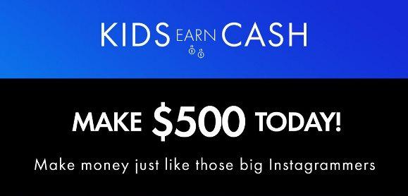 Kids Earn Cash