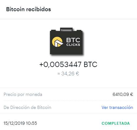 pago btc clicks