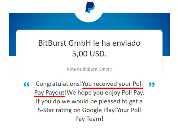 Pago poll pay