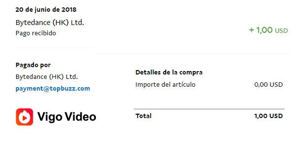 Prueba pago Vigo Video