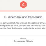Mi segundo pago en Aklamio (25,70€)