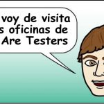 De visita a las oficinas de We Are Testers