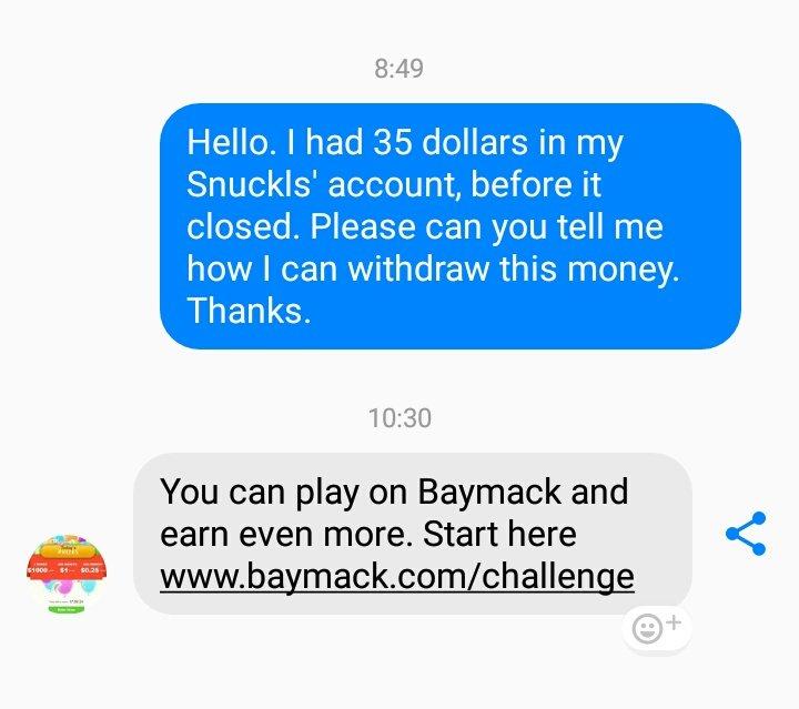 respuesta baymack