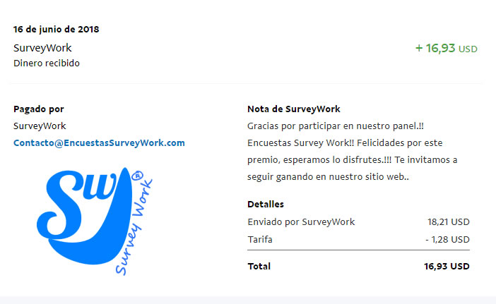 Pago Survey Work