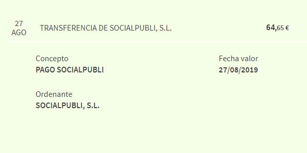 pago socialpubli